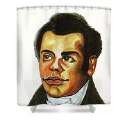 Thomas Freeman Shower Curtain