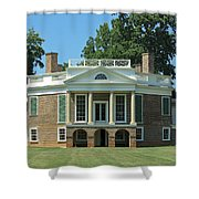 Thomas Jeffersons Poplar Forest Shower Curtain