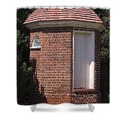 Thomas Jeffersons Privy Shower Curtain