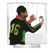 Thomas Nkono Shower Curtain