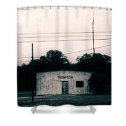 Thompson- La Highway 80 Shower Curtain