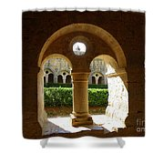 Thoronet Chapter House Shower Curtain