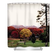 Those Glorious Blue Ridge Mountains Shower Curtain