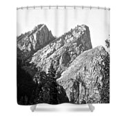 Three Brothers Shower Curtain