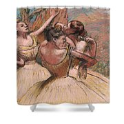 Three Dancers Shower Curtain