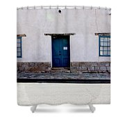 Three Doors And Two Windows Shower Curtain
