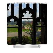 Through The Chapel Arches Shower Curtain