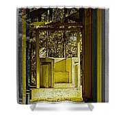 Through Time And Memory Shower Curtain