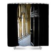 Thru The Chapel Door Shower Curtain