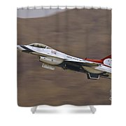 Thunderbird Burner Climb Shower Curtain