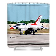Thunderbirds 3d Shower Curtain