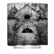 Thundering Belief  Shower Curtain