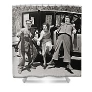 Thundering Taxi, 1933 Shower Curtain
