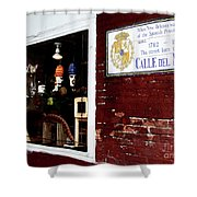 The Window On Calle Del Maine Shower Curtain