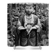 Tibetan Buddha Shower Curtain