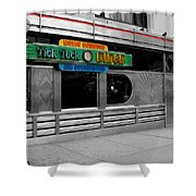 Tick Tock Diner  Shower Curtain