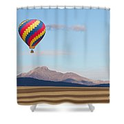 Ticket To Paradise Shower Curtain