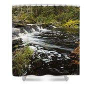 Tidga Creek Falls 1 Shower Curtain
