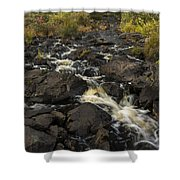 Tidga Creek Falls 3 Shower Curtain