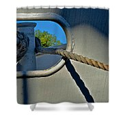 Tied Up Shower Curtain
