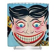 Tillie The Clown Of Coney Island Shower Curtain