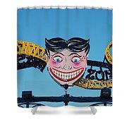 Tillie's Sceam Zone Shower Curtain