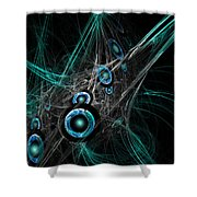 Time And Dimension Shower Curtain