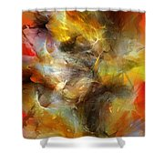Time Storm Shower Curtain