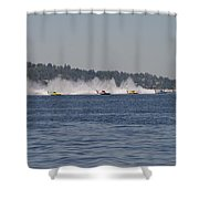 Time To Race Shower Curtain