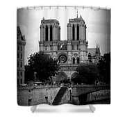 Timeless Notre Dame Shower Curtain