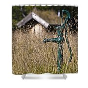 Times Long Past Shower Curtain