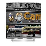 Times Square 1943 Shower Curtain