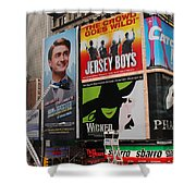 Times Square 7 Shower Curtain