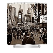 Times Square New York S Shower Curtain