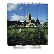 Timoleague Abbey, Co Cork, Ireland 13th Shower Curtain