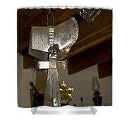 Tin Bonnet Shower Curtain