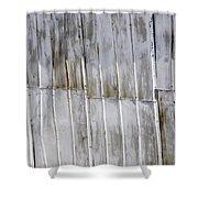 Tin Sheets Shower Curtain