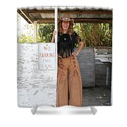 Tina Loy 569  Shower Curtain