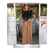 Tina Loy 607 Shower Curtain