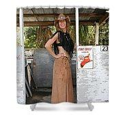 Tina Loy 614 Shower Curtain