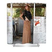 Tina Loy 637 Shower Curtain