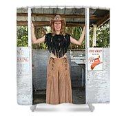 Tina Loy 650 Shower Curtain