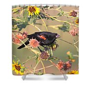 Tinted By Sunset Shower Curtain