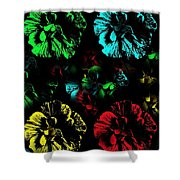 Tiny Dancers Shower Curtain