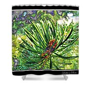 Tiny New Pine Cones Shower Curtain