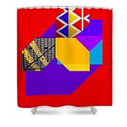Tipi Shower Curtain