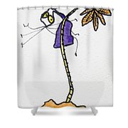 Tis Nuts Shower Curtain