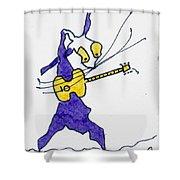 Tis The King - Elvis Shower Curtain