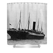 Titanic: The Carpathia, C1912 Shower Curtain
