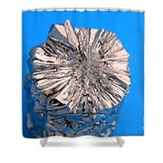 Titanium Crystals Shower Curtain